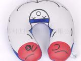 加工定制按摩器颈枕泳装氨纶面料粒子填充抱枕靠垫玩具