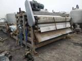 求购二手带宽3米长12米带式污泥脱水机