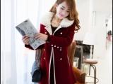 春装新款潮女装韩范妮子风衣韩版尼子大衣短款毛呢外套