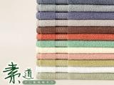 厂家特惠供应全棉素色缎档 宾馆 酒店 礼品 毛巾 纯棉面巾 12