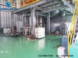 废旧矿物油真空蒸馏设备20吨每天安装在天津