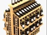 创意木制酒架供应 红酒展示架 可加工定制实木酒架