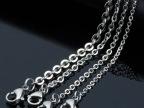 316不锈钢项链钛钢配链欧美外贸饰品锤十