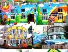 壁画手绘彩绘墙绘3D画幼儿园彩绘古建雕塑油画国画1