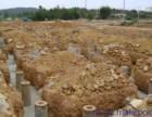 保定涞水打桩施工地基打桩加固 地面打桩钻孔 工程打桩打井