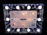 欧式奢华蜡烛灯水晶吊灯 客厅灯饰批发 订
