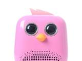 爆破小鸟插卡音箱厂家直销,卡通锂电便携式音箱 便携式插卡音箱