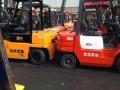 转让杭州3吨带侧移高门架叉车 2吨合力电动叉车专卖低价