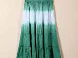 2015年夏季新款 女装民族风印花 纯棉半身裙 连衣裙