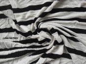 人棉弹力粗针汗布,人棉印花针织布