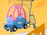 銘曄超市童趣購物車商場兒童手推車機場 玩具卡通車小孩推車