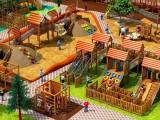 廠家直銷木質組合滑梯 幼兒園滑梯原木拓展設施 戶外公園攀爬架