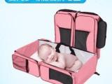 广东背包妈咪包 东莞户外便携婴儿床两用 深圳折叠婴儿床批发