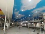 济南天桥区游泳馆软膜吊顶安装软膜安装材料