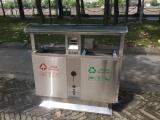 洛陽垃圾桶,果皮箱,不銹鋼,分類垃圾桶,小區垃圾桶廠家直供