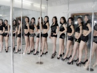 绍兴专业钢管舞培训 聚星钢管舞教练班 成人钢管舞基础班
