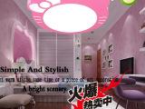厂家批发铁艺书房客厅灯具可爱儿童房卧室灯