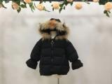 浙江杭州品牌童装 可人公主 冬季羽绒服折扣批发走份货源加盟