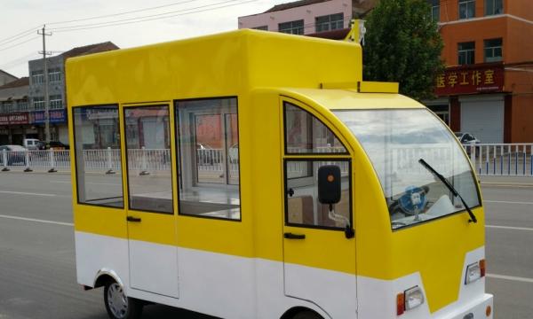 收餐车 餐车推车 流动小吃车 多功能小吃车房车 餐车不锈钢
