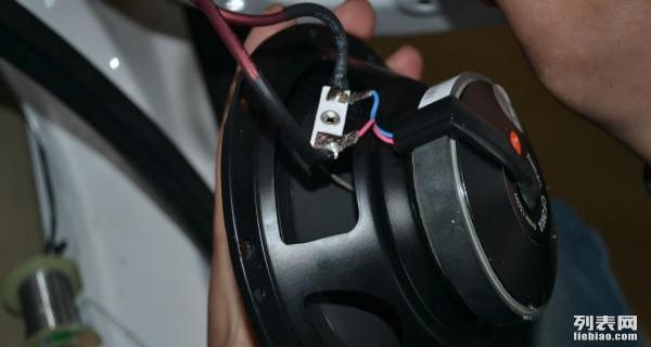 高密别克GL8音响改装惠威 易新汽车音响改装高清图片
