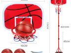 儿童运动玩具篮球架 铁杆篮球框可升降1.