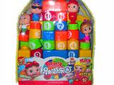 低价促销 猪猪侠数字拼装积木玩具 环保材料积木 益智玩具 供应中