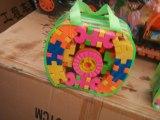 直销儿童早教益智启蒙百变积木玩具塑料拼装大号袋装背包积木