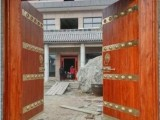 中式实木仿古大门双开木门别墅复古门松木庭院入户大门