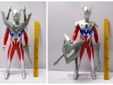 赛罗奥特曼配武器  超可动变形奥特曼35CM声光版玩偶玩具
