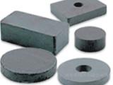 厂家生产喷漆同性异性铁氧体模压磁环 线切割方块圆片磁铁