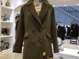 布石冬装 羽绒服大衣外套品牌女装折扣批发 一手货源走份批发