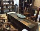 老船木家具茶几实木茶桌功夫茶台办公桌大板桌阳台