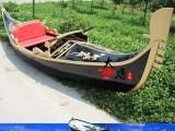 湖北武汉荆州宜昌襄阳5米BLG-01玻璃钢贡多拉船欧式船厂家