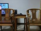 刺猬紫檀 非州黄花莉皇宫圈椅