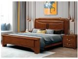 厂家直销批发零售 实木床橡木床婚床储物床家具