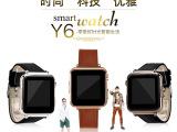 Y6智能手表插卡通话蓝牙计步拍照QQ微信