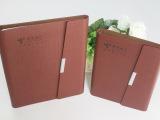 【厂家直供】PU笔记本 高档变色革平装记事本 PU活页万用手册