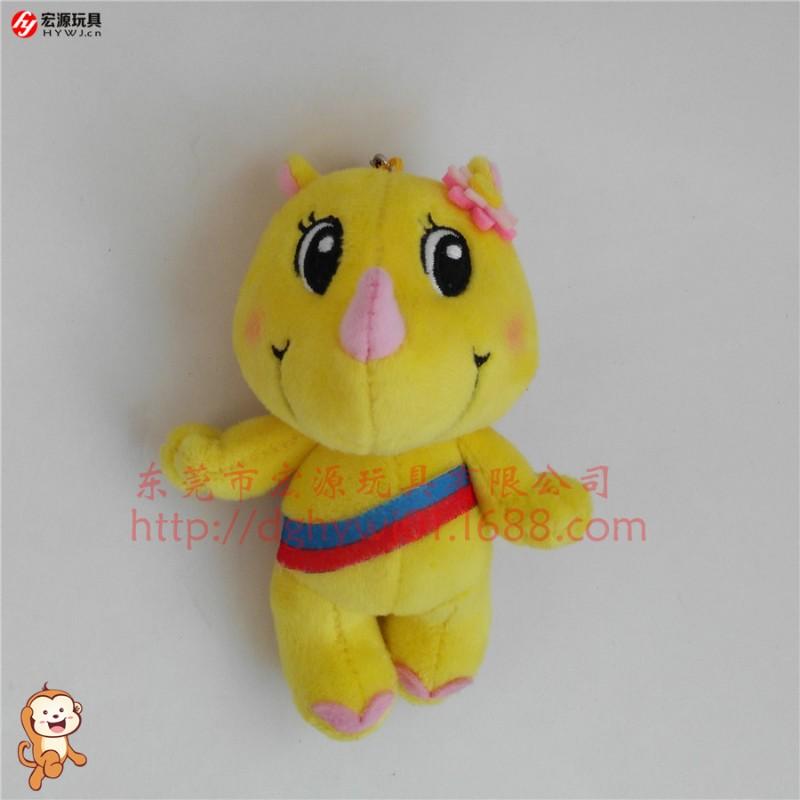 东莞专业毛绒公仔定制定做吉祥物毛绒玩具定制宏源玩具定制
