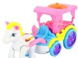 神奇马车 电动马车 童话世界玩具