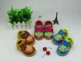 卡通小童皮鞋批发 冬季新款婴幼儿爬虫软底鞋宝宝学步鞋厂家直销