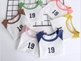 童装纯棉短袖T恤 韩版卡通宝宝上衣厂家批发