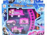 电动冰雪奇缘轨道车玩具批发地摊热卖儿童益智模型玩具广场热卖
