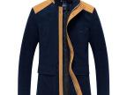 一件代发2014春秋新款男中长款夹克衫男士休闲夹克外套男装夹克潮