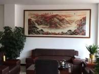 贵阳书法国画油画图片刺绣装裱 专业加工画框相框广告框