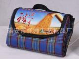 批发大号可折叠防潮格子布野餐垫。户外垫,防水垫,爬行垫