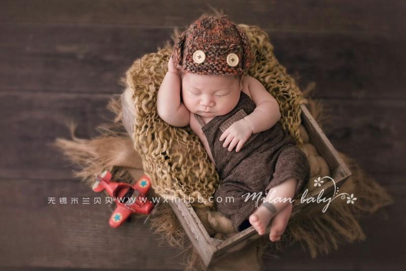 无锡创意拍摄新生儿,首选米兰贝贝
