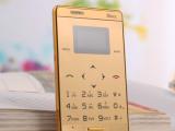 迷你卡片手机触控超薄超小袖珍学生男女MP3音乐商务卡片手机批发