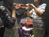 深圳龙岗爱联城市花园学小提琴提shen了东西