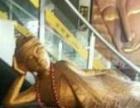 泰国木雕东南亚卧佛睡佛招财大堂摆件长一米八