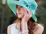 专柜正品太阳帽子女夏女士遮阳帽防晒沙滩帽大沿折叠防紫外线凉帽